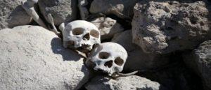 В пещере Мардин были найдены черепа