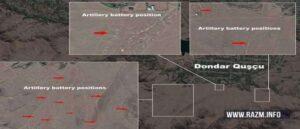 Азербайджан разместил свои артиллерийские батареи