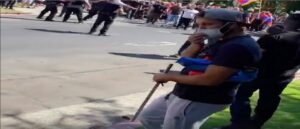 «Мирные» азербайджанцы были вооружены