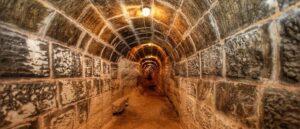 В крепости Айнтап обнаружены древние тоннели