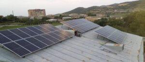 Солнечная станция в Ноемберяне - Армения