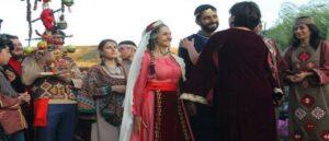 Армянская традиционная свадебная одежда