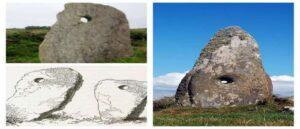 Древние камни с отверстиями в Ирландии