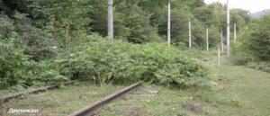 Первая железная дорога на территории Армении