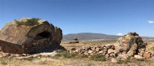 На руинах города Царей Армении Ани