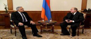 Президент Саркисян обсудил ливанский кризис