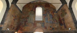 Президент Армении помог отреставрировать фреску