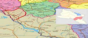 Южная часть области Вайоц Дзор