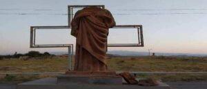 Статуя Иисуса Христа подверглась вандализму