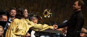 Концерт звезд в Вильнюсе