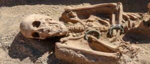 В Ване была найдена могила женщины