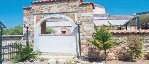 В Турции вход в греческую церковь
