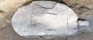 В Кесарии найдены обломки статуи