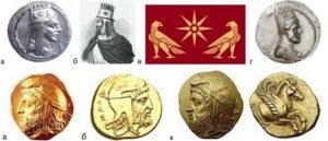 Тигран I Ервандуни - Битвы армян