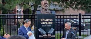 В Монреале открыли памятник Комитасу