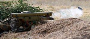 Азербайджан возобновил обстрел Степанакерта