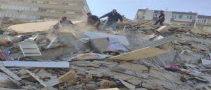 Сильное землетрясение в Измире