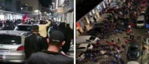 Турки вышли на улицы Лиона с угрозами