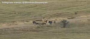 Армия обороны подбила израильский БТР Sandcat
