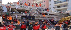 Число погибших от землетрясения в Измире