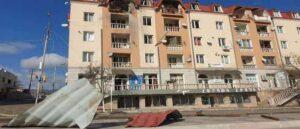 Степанакерт - Последствия азербайджанского обстрела