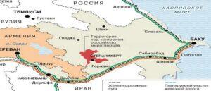 """Коммерсантъ"" опубликовал карту транспортных коридоров"
