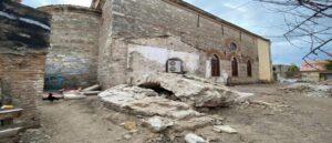 Баптистерий Армянской церкви в Дарданеллах был полностью разрушен