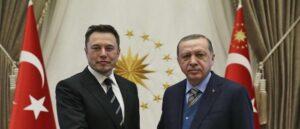 Эрдоган и Илон Маск в телефонном разговоре