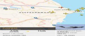 В Азербайджане приземлился 45-й турецкий военный самолет