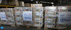 Статистика объема гуманитарной помощи в Армению