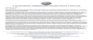 Законодательное собрание армян Калифорнии