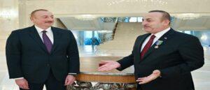 Чавушоглу в Баку должен встретится с Алиевым