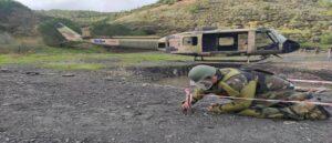 Азербайджанские солдаты проходят подготовку по разминированию в Турции