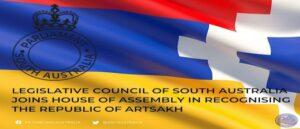 Законодательный совет Южной Австралии признал Арцах