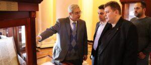 Томаш Лех Бучек посетил Матенадаран