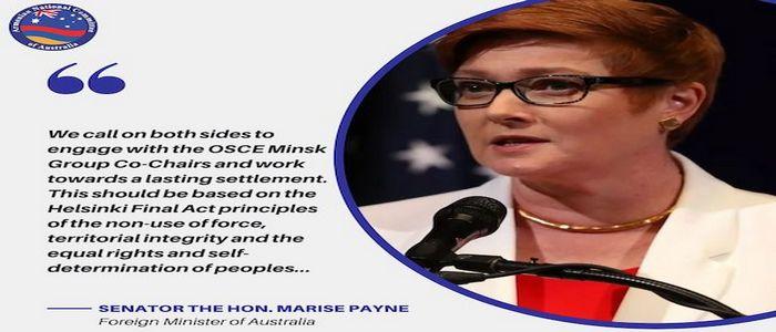 Правительство Австралии поддерживает процесс и принципы ОБСЕ