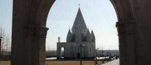 Зиарат - Езидский храм в селе Акналич - Армения