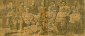 Офицеры и Военный Совет Республики Армения 1918 год - История фотографии