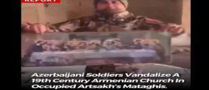 Азербайджанские солдаты разгромили армянскую церковь XIX века в оккупированном Матагисе - Арцах