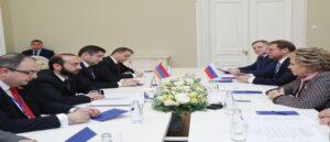 Тему армянских пленных обсудили Мирзоян и Матвиенко