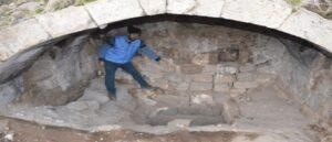 Расхитители осквернили древнюю гробницу в Кесарии