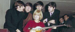 The Beatles и Сильви Вардан - История фотографии