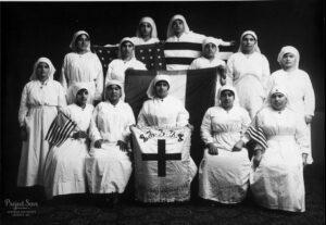 Добровольцы Армянского Красного Креста - 1918г.
