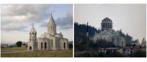 """Под видом """"ремонтных работ"""" Азербайджан искажает и уничтожает церковь Газанчецоц Сурб Аменапркич в Шуши"""