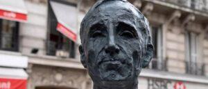 Бюст в память о Шарле Азнавуре установлен в Париже