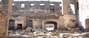Во время Геноцида армян церкви Св. Киракоса и Св. Саркиса в Тигранакерте использовались как немецкие штаб-квартиры