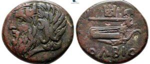 Древняя монета из Ольвии а исторической картине связанной с Арменией