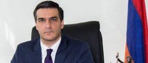Решения о границах Армении должны основываться на защите прав сельских жителей - Арман Татоян