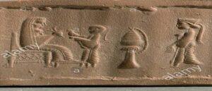 Армянская печать IV века до нашей эры