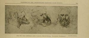 Черты армянских мужчин на рисунках Леонардо да Винчи